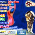 Daftar Judi Bola Piala Dunia 2018 Terpercaya Deposit 50ribu