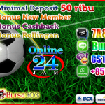 Agen Bola Minimal Deposit 50rb | Bet Murah MixParlay 25rb