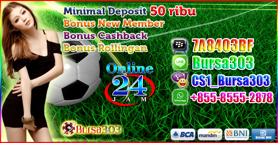 Agen Bola Minimal Deposit 50rb Bet Murah MixParlay 25rb